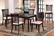 Bayberry 5-Piece Rectangle Dining Set - Dark Cherry - THD3812