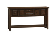 Tuscan Retreat 6 Drawer Hall Table - THD4622