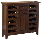 Tuscan Retreat Wine Console/Storage Unit - THD4602