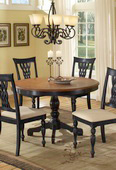 Embassy Round Pedestal Dining Table - THD4064