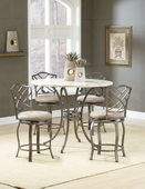 Brookside 5-Piece Counter Height Dining w/Hanover Stools - THD3868