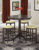 Tiburon Pub Table w/4 Backless Stools - THD4592