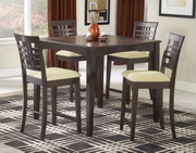 Tiburon 5-Piece Counter Height Dining Set - THD4596