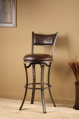 30in Hillsdale Swivel Bar Stool - THD3055