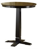 Dynamic Designs Pub Table - Black/Brown Cherry - THD4046