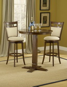 Jefferson 5-Piece Pub Set - Pub Table With 4 Jefferson Barstools - THD4058