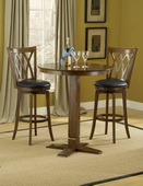 Mansfield 5-Piece Pub Set (4 bar stools & 1 table) - THD4060