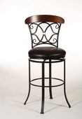 30in Hillsdale Industrial Swivel Bar Stool - THD3061
