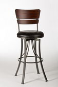 26in Hillsdale Swivel Counter Stool - THD3241