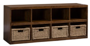 Tuscan Retreat Storage Cube with Baskets - THD4610