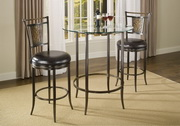 Parkside 3pc Bar Height Pub Table Set - THD4456