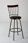 Cantwell Swivel Counter & Bar Stool w Nested Leg - THD3496