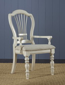 Pine Island Wheat Back Arm Chair - Set of 2 - THD4492