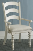 Pine Island Ladder Back Arm Chair - Set of 2 - THD4494