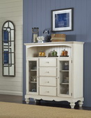 Pine Island Four Drawer Baker's Cabinet - THD4502