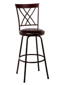 Northland Swivel Counter & Bar Stool with Nested Leg - THD3530
