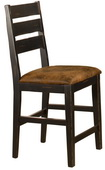 Killarney Ladder Back Non-Swivel Counter Stool - Set of 2 - THD4144