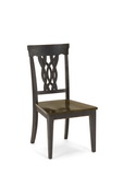 Lafayette Center Panel Wood Seat Dining Chair - Set of 2 - THD4166