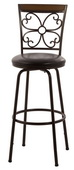 Garrison Swivel Counter & Bar Stool with Nested Leg - THD3540