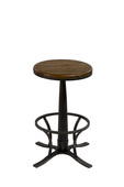 Rivage Backless Swivel Counter Stool - THD3548