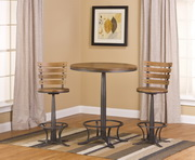 Westview Bar Height Bistro with Westview Stools - THD4702
