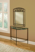 Marsala Console Table and Mirror - THD4268