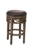 Chesterfield Backless Swivel Counter Stool - THD3618