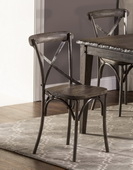 Lorient X Back Dining Chair - Set of 2  - THD4214