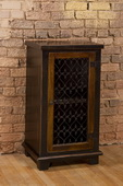 Gibbins Cabinet with Metal Insert Door  - THD4072