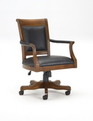 Kingston Square Leather Back Game Chair - THD4160