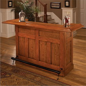 Aqua Pear Lancaster Oak Large Bar by Hillsdale - THD3334