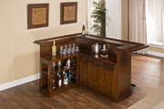 Aqua Pear Manchester Large Brown Cherry Bar with Side Bar by Hillsdale - THD8028