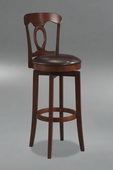 24.5in Corsica Swivel Counter Stool With Vinyl Seat - THD2080