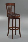 30in Canton Swivel Bar Stool With Vinyl Seat - THD2095