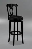 30in Corsica Swivel Bar Stool With Vinyl Seat - THD2107