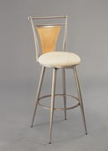 30in London Swivel Bar Stool - THD2143