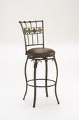 30in Lakeview Swivel Bar Stool - Slate Accent - THD2236