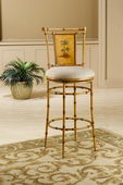30in West Palm Swivel Bar Stool - THD2356