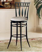 26in Hudson Swivel Counter Stool - THD2446