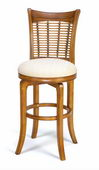 24in Bayberry Wicker Swivel Counter Stool - THD2557