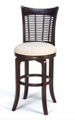 24in Bayberry Wicker Swivel Counter Stool - THD2566