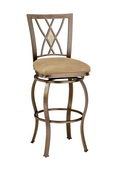 30in Brookside Diamond Fossil Back Swivel Bar Stool - THD2617