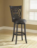 24in Van Draus Swivel Counter Stool And Flare Leg - THD2755