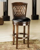 24in Vienna Swivel Counter Stool - THD2782
