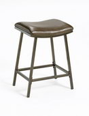 24-30in Saddle Counter/Barstool With Nested Leg - THD2899