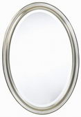 Aqua Pear Blake Oval Mirror by TKC - TKC3954
