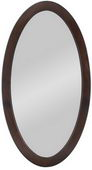 Aqua Pear Cordova Oval Mirror by TKC - TKC4350