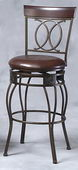 24in Matte Bronze O X Back Counter Stool - TLN5050