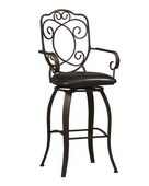 30in Crested Back Bar Stool 30 - TLN5113