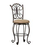 24in Gathered Back Counter Stool 24 - TLN5116